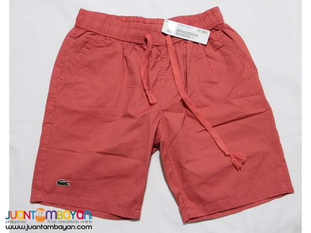 LACOSTE CLASSIC SHORTS FOR MEN - LACOSTE SHORTS FOR MEN