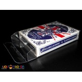 Clear Plastic Playing Card Case
