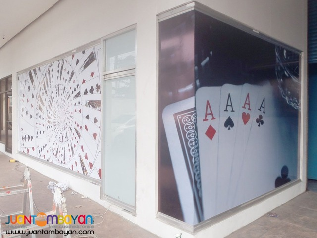 Wall Murals, Sticker, Side Walk Sign, Menu Board, Standee