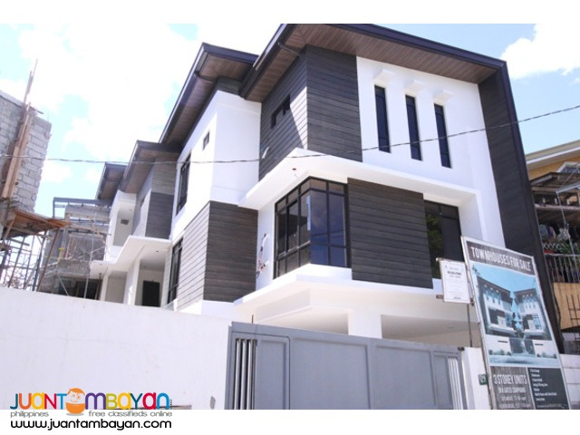 PH435 Townhouse in Project 6 Quezon City for Sale at 8.5M