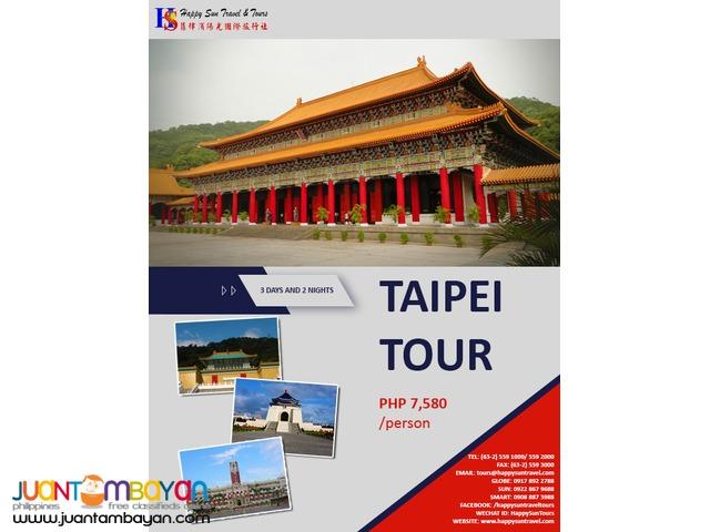 3D2N Taipei Tour Package