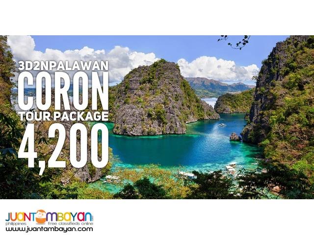 Coron Palawan PROMO Tour Package 2017/2018