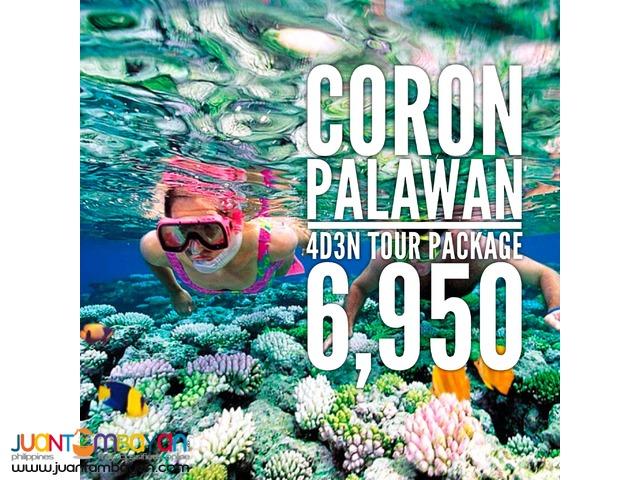 CORON Palawan 4D3N Adventure Package Promo 2017/2018