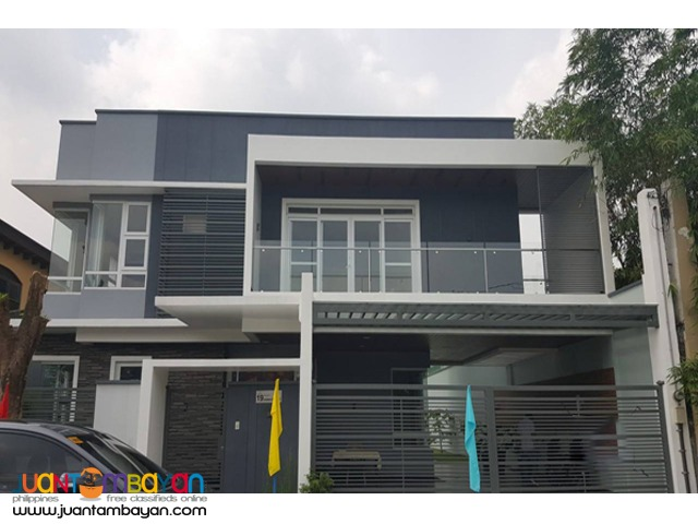 PH811 Single Detached House in Pasong Tamo Quezon City at 26M