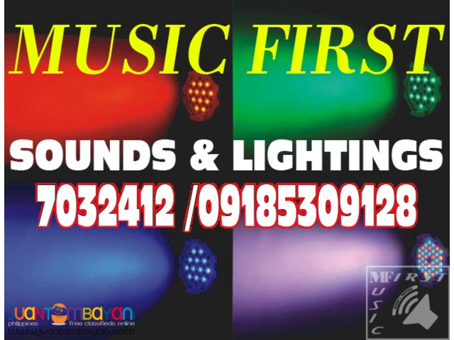 Lights & Sounds System For Rent.@7032412,7147643,09155970196.