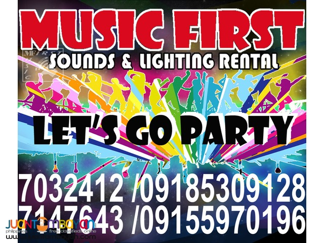 MOBILE DISCO RENTAL SOUND SYSTEM LIGHTS RENT@7147643,09185309128