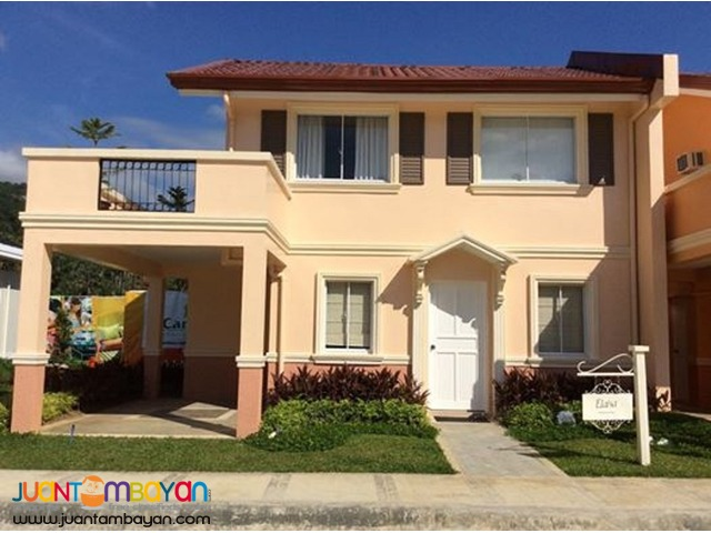 4 BR – AFFORDABLE HOUSE AND LOT ELAISA MODEL AT CAMELLA RIVERWALK