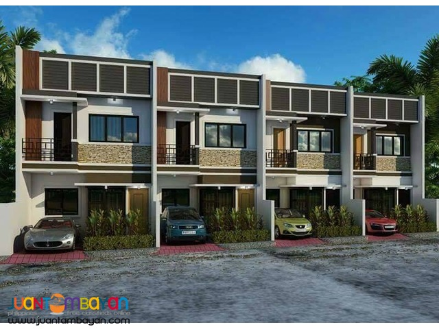 Pre-selling Townhouse w/ roofdeck at Elijah Homes, Quiot, Pardo