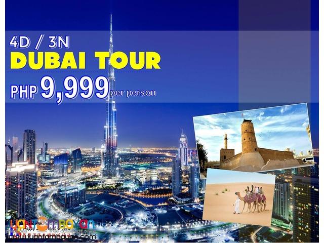 4D3N Dubai City Tour