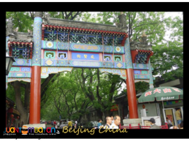 Beijing china tour, with meals