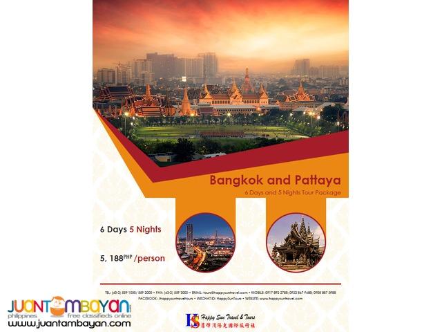 6D5N Bangkok & Pattaya Package