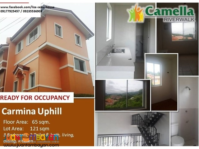 MOVE-IN FOR ONLY 5pct DP CAMELLA RIVERWALK CARMINA UPHILL MODEL