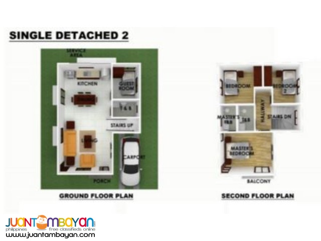 SERENIS SUBDIVISION SINGLE DETACHED HOUSE YATI, LILOAN CEBU