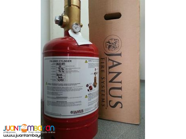JANUS Fire Suppression System (FM200) Foremost Clean Agent