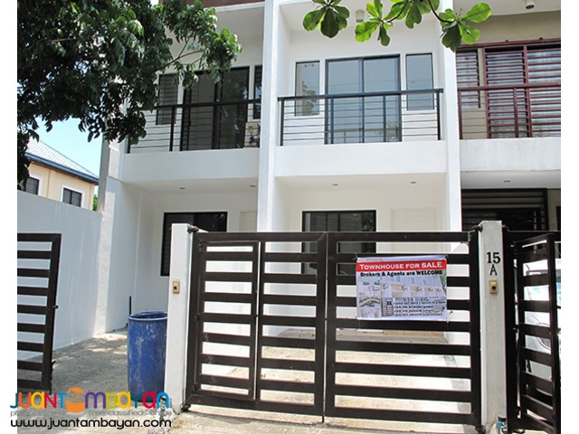 PH713 Townhouse For Sale In Pasig At 3.9M