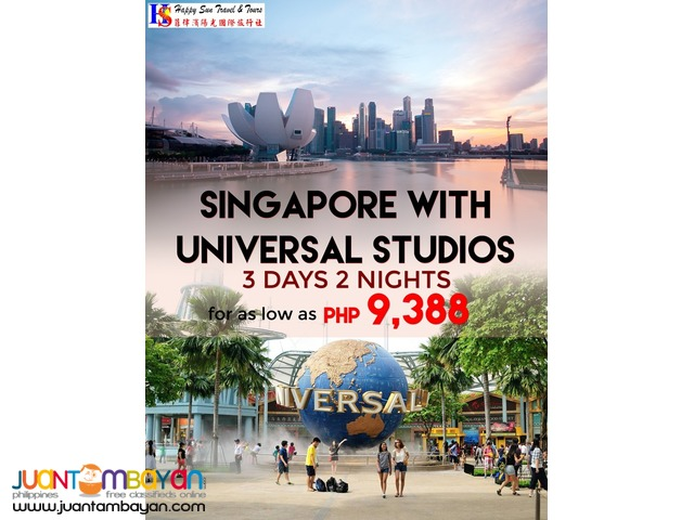 Singapore with Free Universal Studios