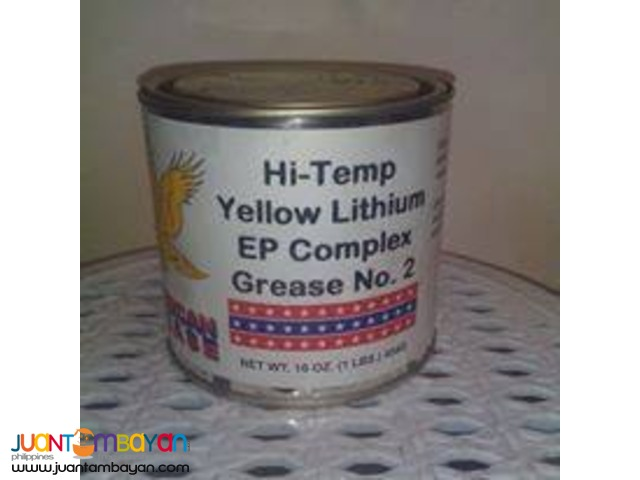 Hi-Temp Yellow Lithium EP Complex Grease