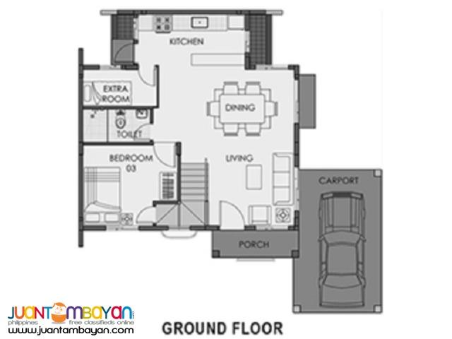 4 BR – CAMELLA CARCAR 4BR/3TB HOUSE FREYA MODEL CARCAR CITY, CEBU