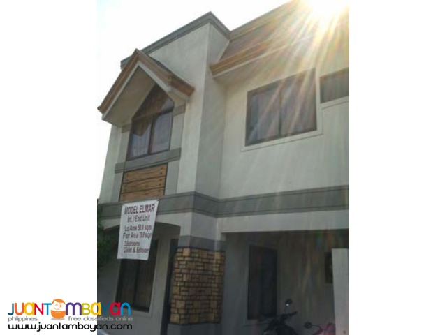 PH457 Affordable Townhouse in Novaliches Quezon City for Sale 2.990M