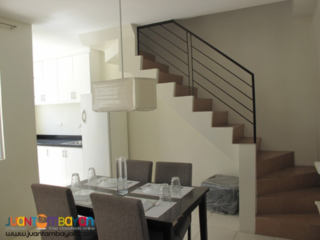 PH724 Elegant Townhouse For Sale In Novaliches Q.C At 2.850M