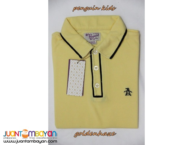PENGUIN KIDS - PENGUIN POLO SHIRT FOR KIDS - KIDS T SHIRT