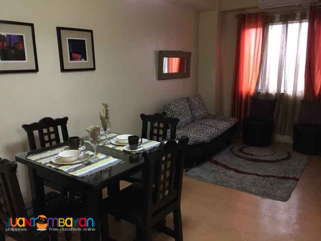 Furnished Studio type Condo for Rent in Quezon City