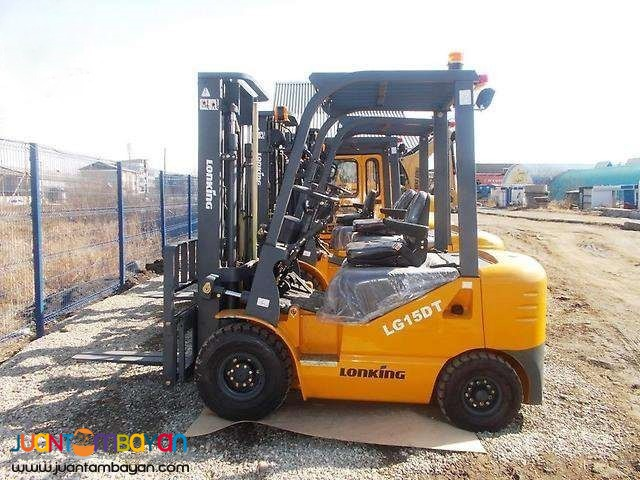 LONKING DIESEL FORKLIFT 1.5 TONS TCM counterpart FD15