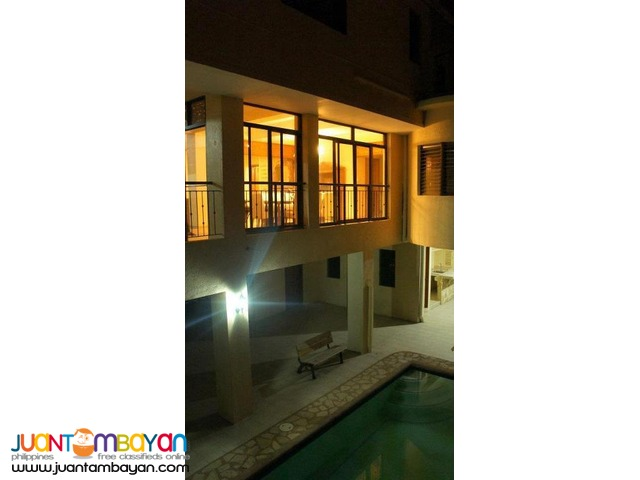 130k 6BR Furnished House w/Pool For Rent in Banilad Cebu City