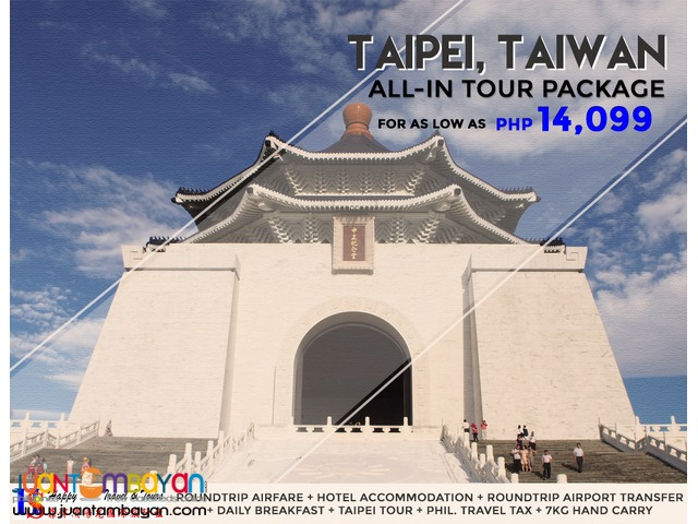 Taipei All-In Tour Package