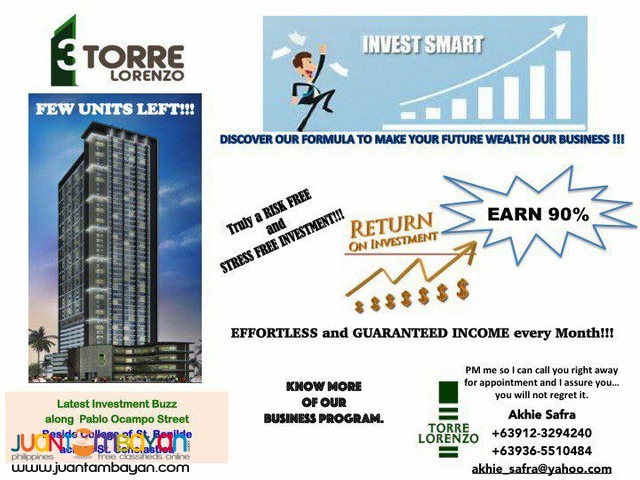 Condominium for investment with passive 300k per annum.