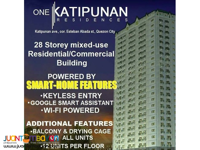 Pre-selling Commercial Space for SALE nr. Ateneo de Manila