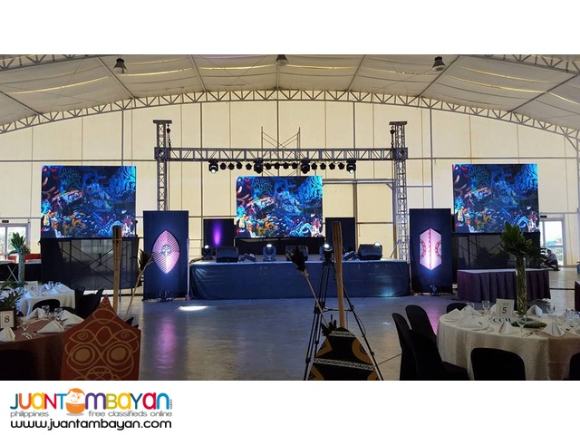 LED Wall - LED Wall Rentals - Sales and Rentals