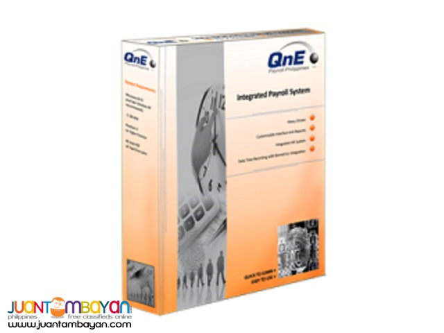 Best Payroll Software-QNE Business Software
