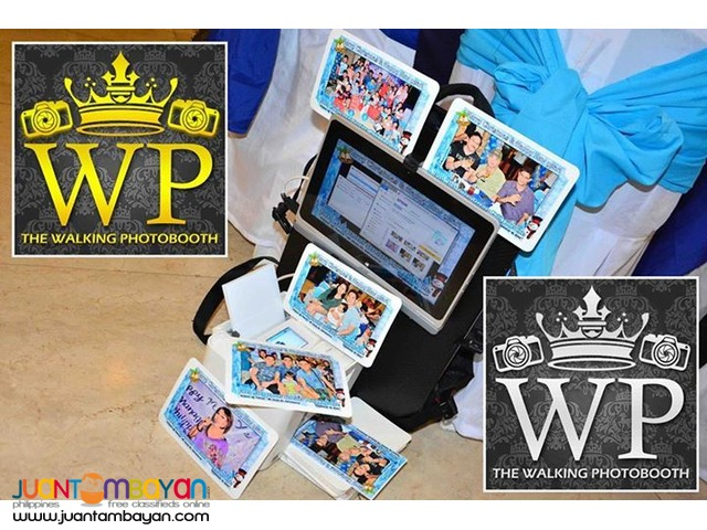 Photoman Walking Photobooth High Quality Equipments Featured on TV
