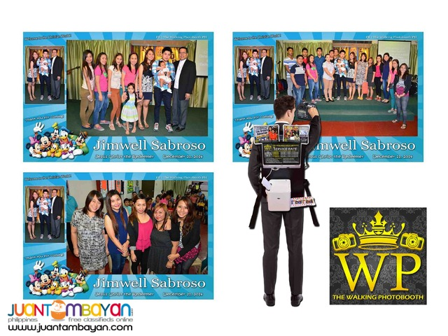 Photoman Walking Photobooth Photographer (High Quality Service)