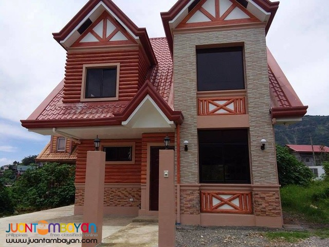 House and Lot Duplex Type with Attic Provision in Baguio City