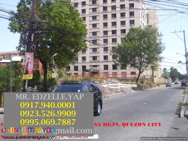 Lot for Sale Sta. Mesa Hts. Quezon City