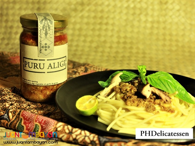 PURU ALIGI (100% pure aligue(crab roe or crab fat)(taba ng talangka))