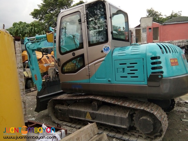 MINI BACKHOE (KOMATSU COUNTERPART PC60) JINGGONG