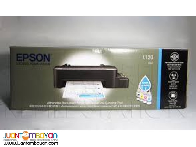 EPSON L120 Free Delivery Lifetime Service Money Back Guarantee