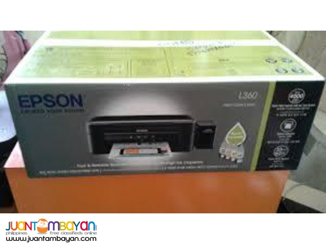 EPSON L360 Free Delivery Lifetime Service Money Back Guarantee