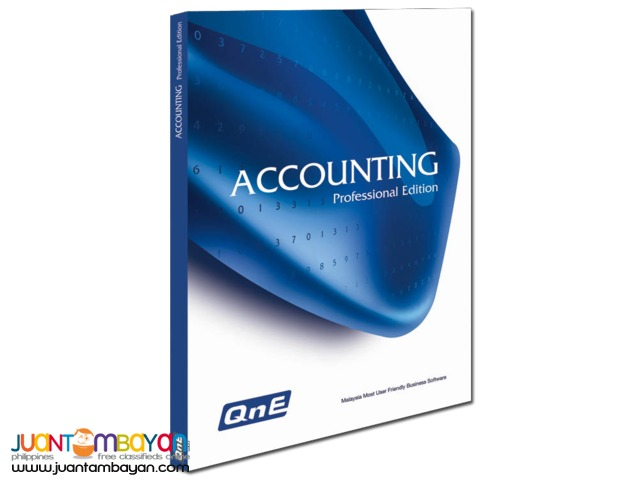 Quick n Easy Accounting Software-BIR Ready