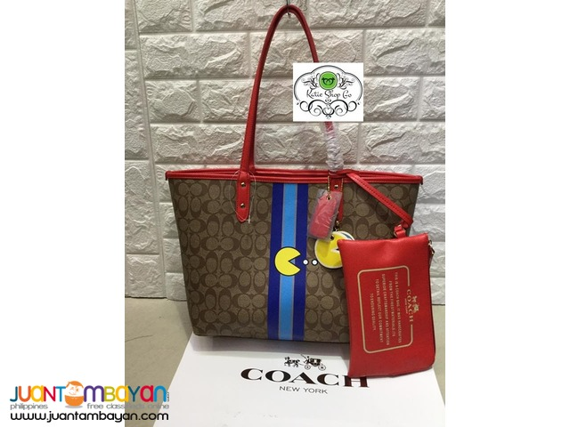 COACH SHOULDER BAG - COACH REVERSIBLE TOTE
