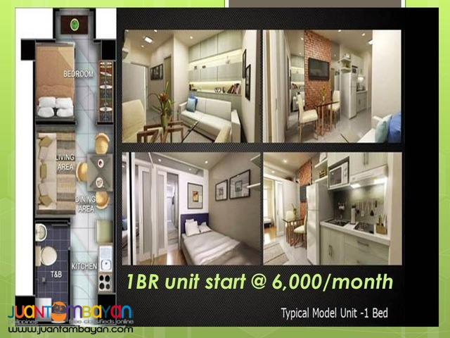 Condo Unit in Quezon City near Quezon Avenue