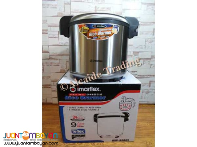 Commercial Rice cooker Imarflex electric and songyi brand gas