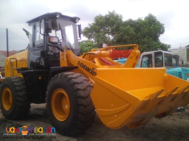 CDM843 Wheel Loader 2.3 Cubic LONKING