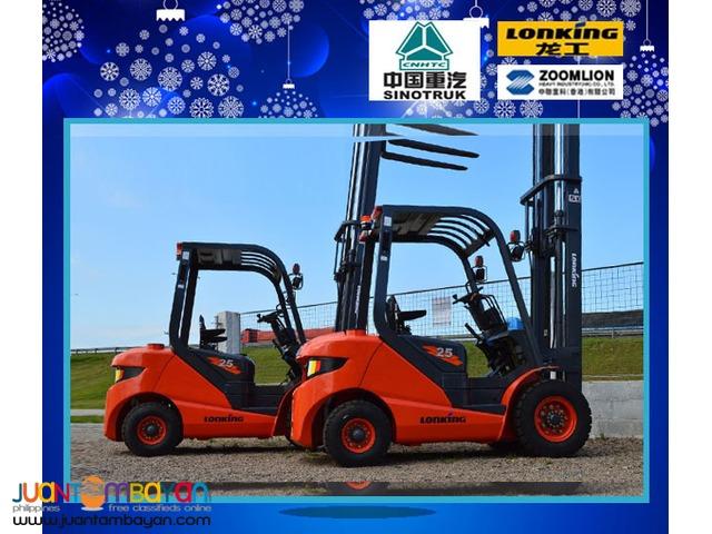 LG25DT Diesel Forklift 2.5 Tons LONKING