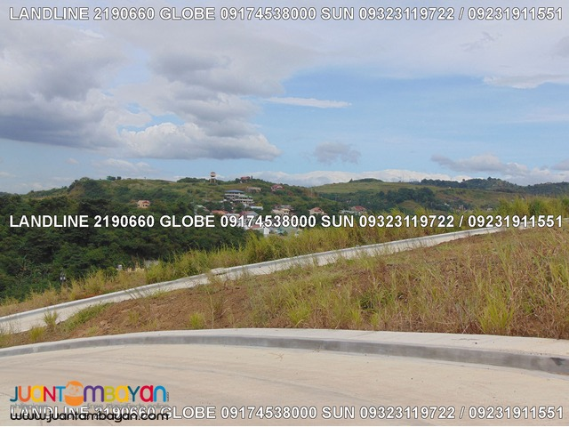 Sunnyville Angono overlooking Lot for Sale near SM accessible to Pasig
