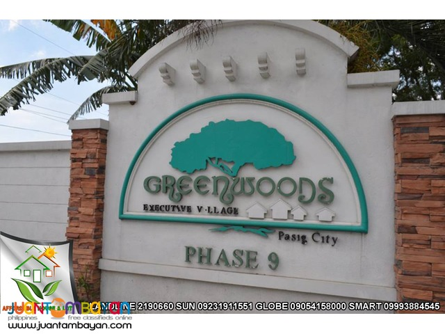 Greenwoods Lot for Sale in Pinagbuhatan Pasig