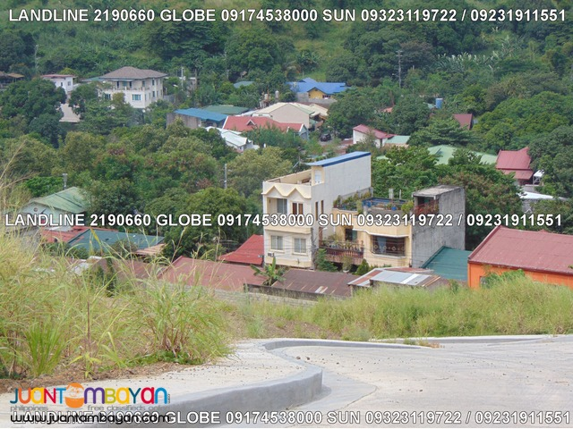 Overlooking Residential Lot for Sale in Sunnyville Angono Installment